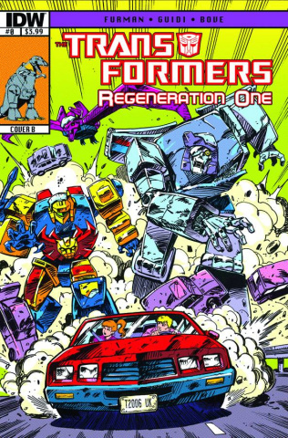 The Transformers: Regeneration One #0