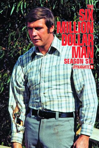 The Six Million Dollar Man, Season 6 #4 (Subscription Cover)