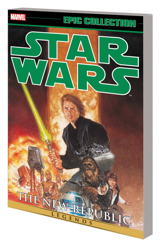 Star Wars Legends Vol. 5: The New Republic (Epic Collection)