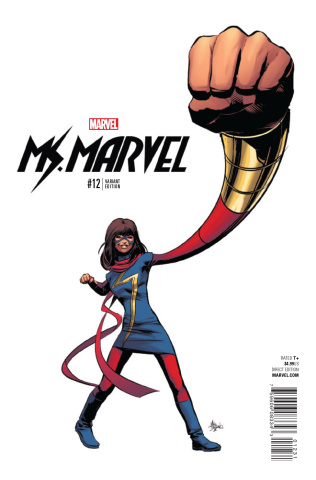 Ms. Marvel #12 (Deodato Teaser Cover)