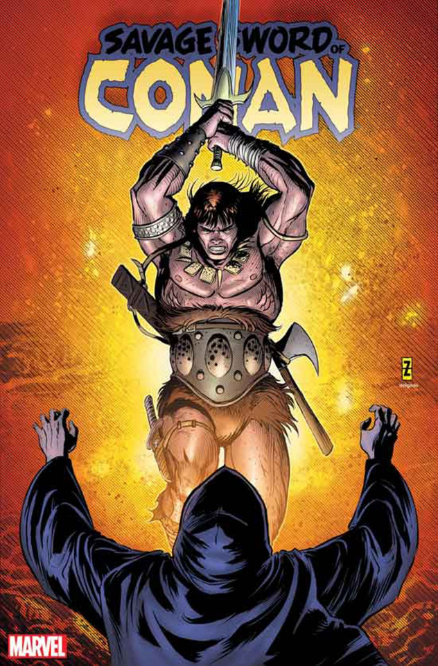 The Savage Sword of Conan #12 (Zircher Cover)
