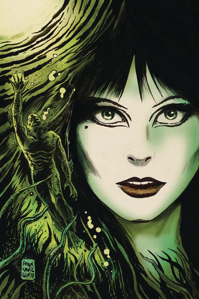 The Shape of Elvira #2 (10 Copy Francavilla Virgin Cover)