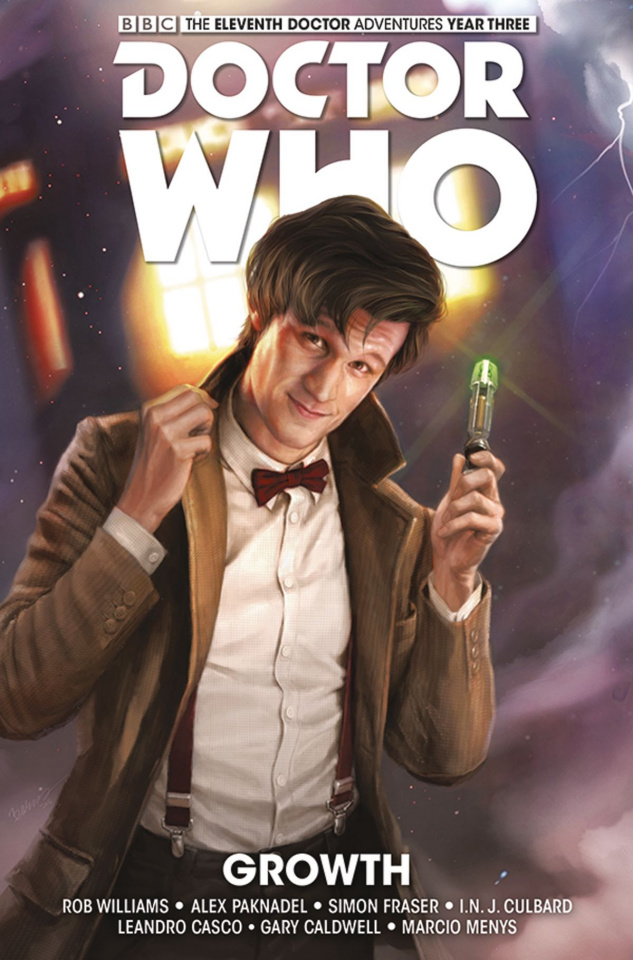 Doctor Who: New Adventures with the Eleventh Doctor, Year Three Vol. 1: Growth