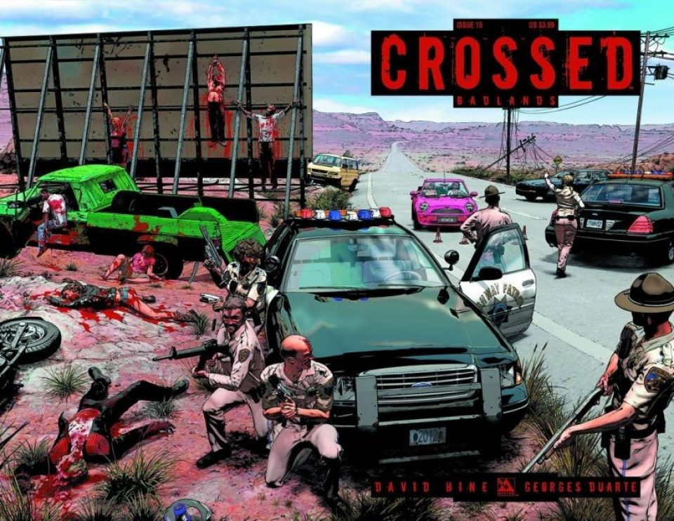 Crossed: Badlands #15 (Wrap Cover)