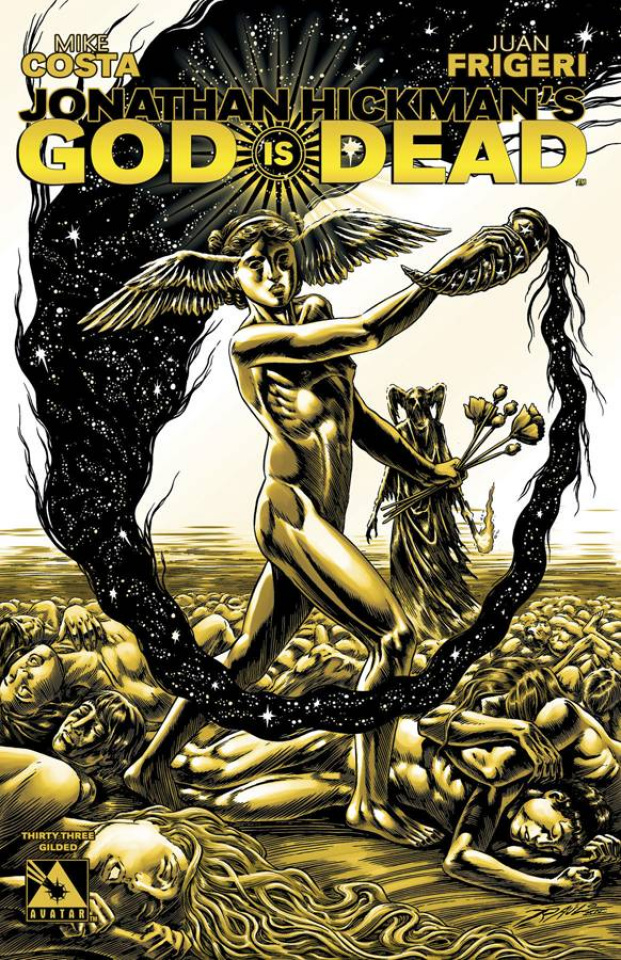 God Is Dead #33 (Gilded Retailer Cover)