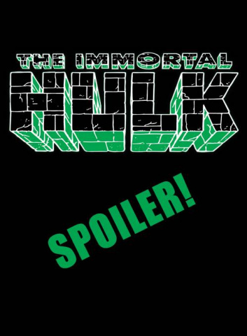 The Immortal Hulk #40 (Young Spoiler Cover)
