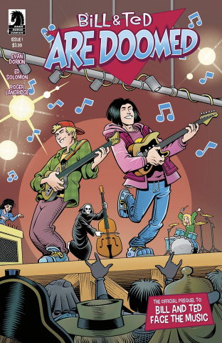 Bill & Ted Are Doomed #1 (Langridge Cover)