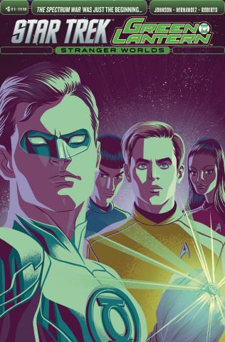 Star Trek / Green Lantern #6 (Subscription Cover)