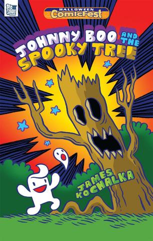 Johnny Boo an the Spooky Tree (Halloween ComicFest 2018)