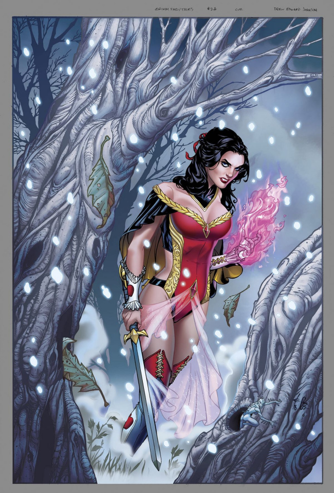 Grimm Fairy Tales #2 (Johnson Cover)