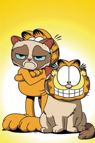 Grumpy Cat / Garfield #3 (20 Copy Uy Virgin Cover)