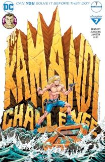 The Kamandi Challenge #7 (Variant Cover)