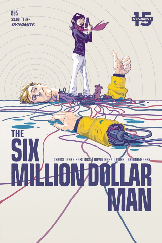 The Six Million Dollar Man #5 (Walsh Cover)
