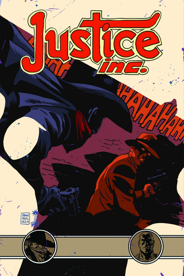 Justice, Inc. #3 (Francavilla Cover)