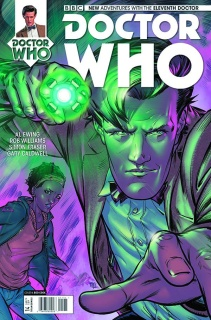 Doctor Who: New Adventures with the Eleventh Doctor #14 (Cook Cover)