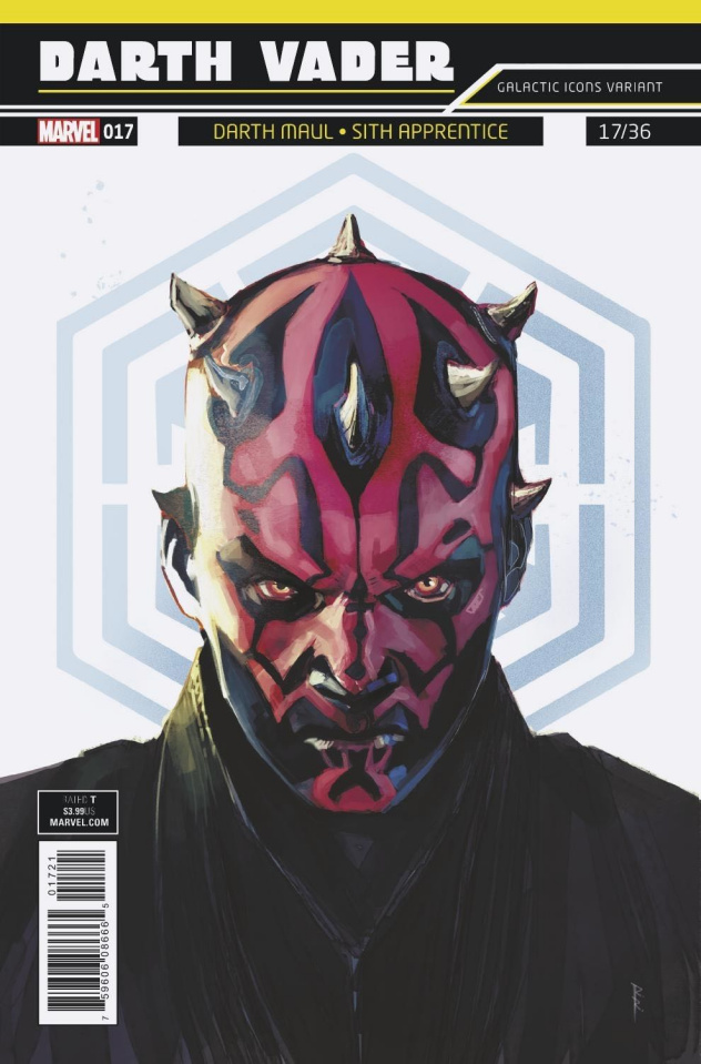 Star Wars: Darth Vader #17 (Reis Galactic Icon Cover)