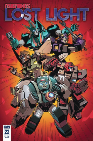The Transformers: Lost Light #23 (Lawrence Cover)