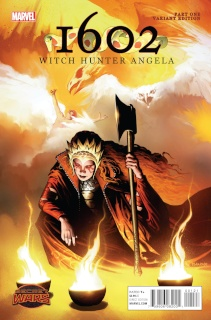 1602: Witch Hunter Angela #1 (Isanove Cover)