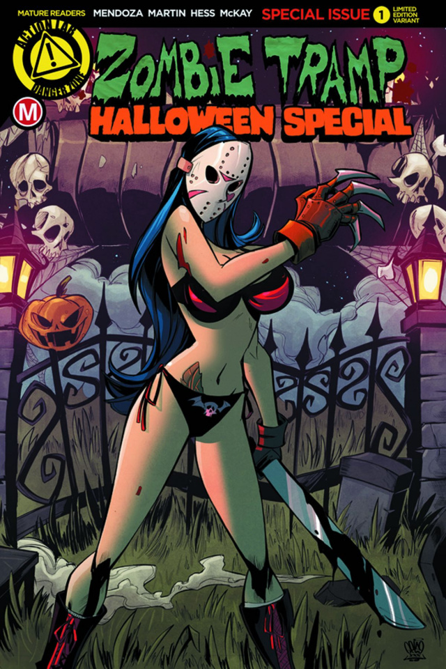 Zombie Tramp Halloween 2016 Special (Slasher Cover)
