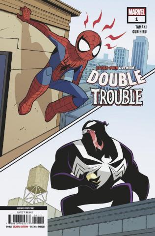 Spider-Man & Venom: Double Trouble #1 (Gurihiru 2nd Printing)
