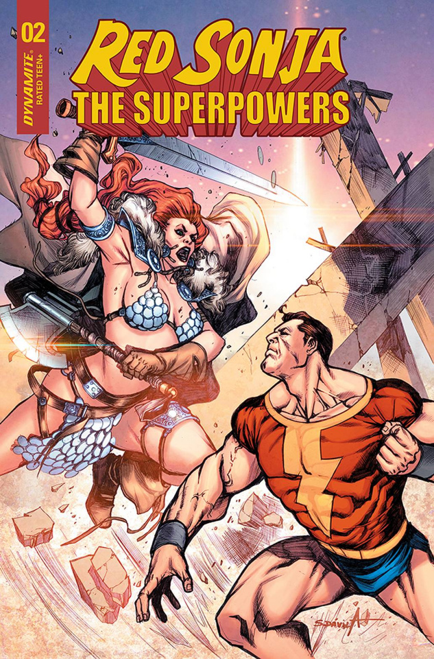 Red Sonja: The Superpowers #2 (15 Copy Davila Cover)