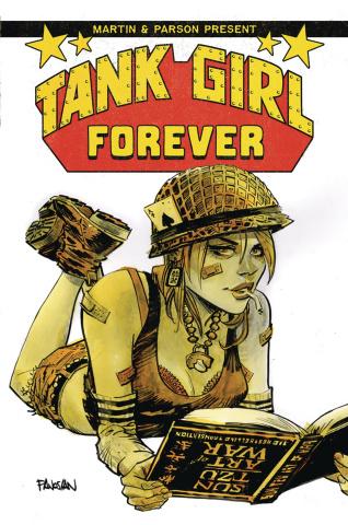 Tank Girl #5 (Panosian Cover)