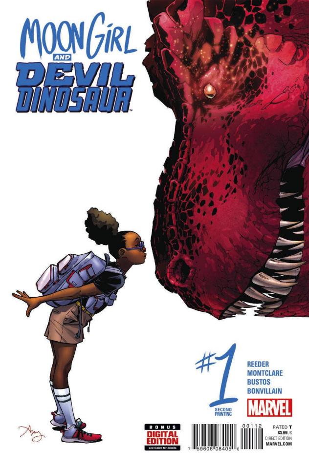 Moon Girl and Devil Dinosaur #1 (Reeder 2nd Printing)