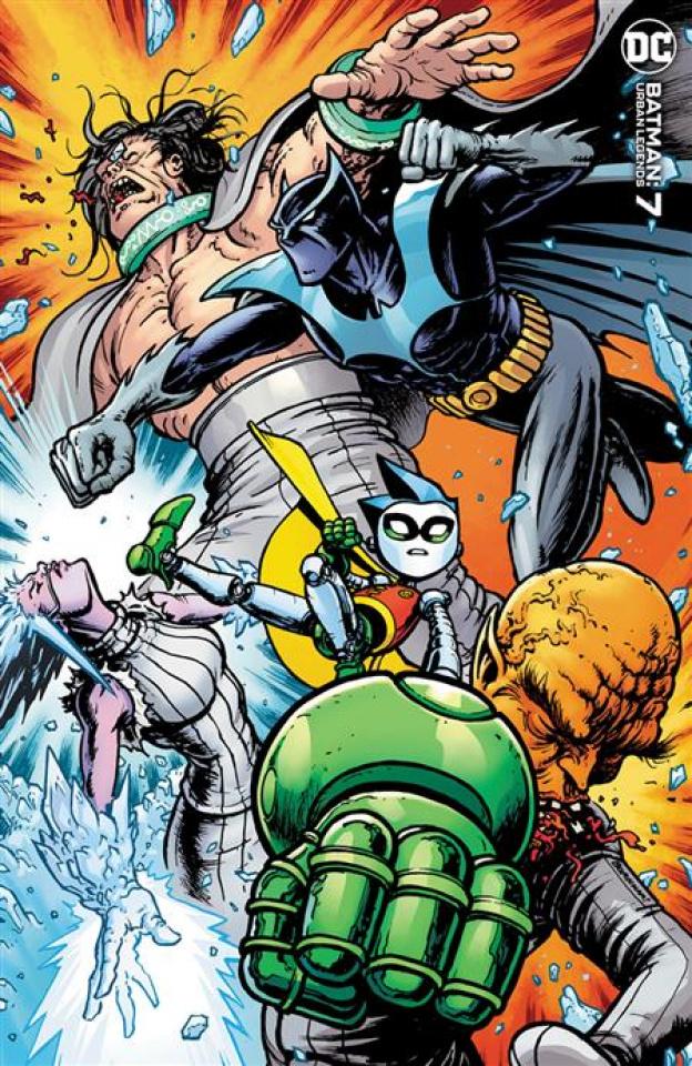 Batman: Urban Legends #7 (Chris Burnham Cover)