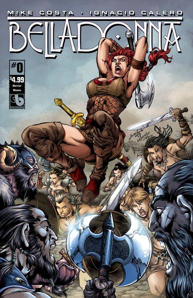 Belladonna #0 (Warrior Women Cover)