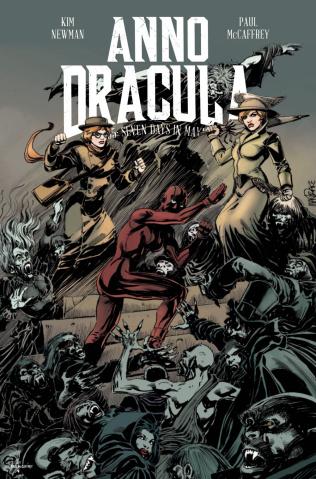 Anno Dracula #4 (Mandrake Cover)