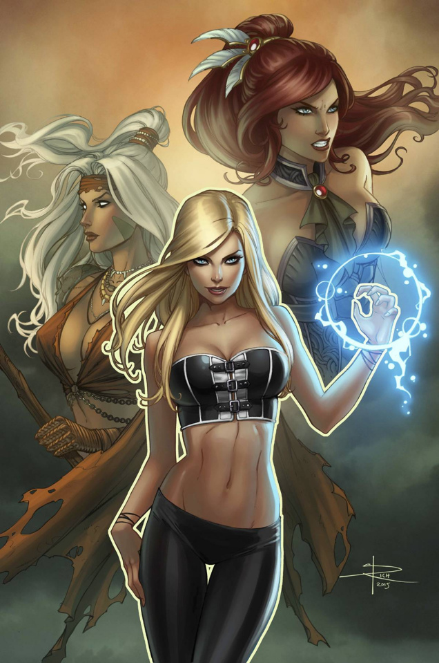 Grimm Fairy Tales: The Coven #4 (Rich Cover)