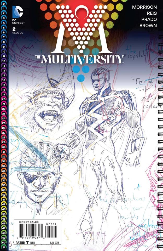 Multiversity #2 (Morrison Cover)