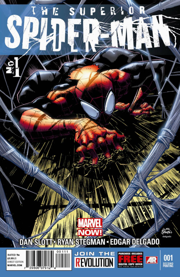 The Superior Spider-Man #1 (2nd Printing)