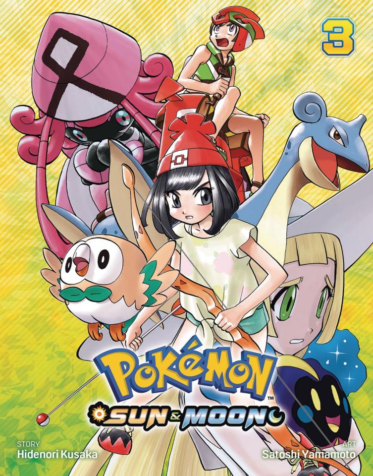 Pokemon: Sun & Moon Vol. 3