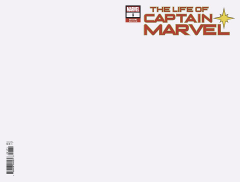 The Life of Captain Marvel #1 (Blank Cover)
