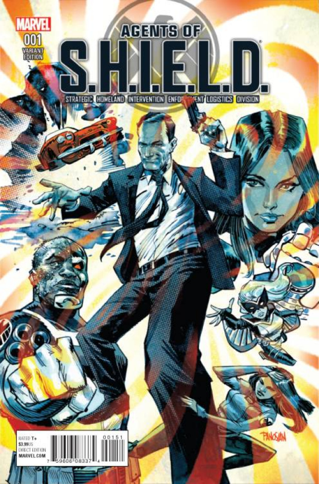 Agents of S.H.I.E.L.D. #1 (Panosian Cover)