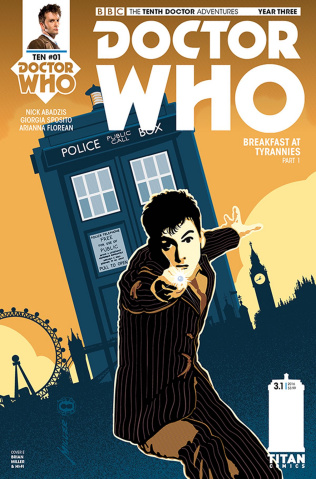 Doctor Who: New Adventures with the Tenth Doctor, Year Three #1 (Miller Cover)
