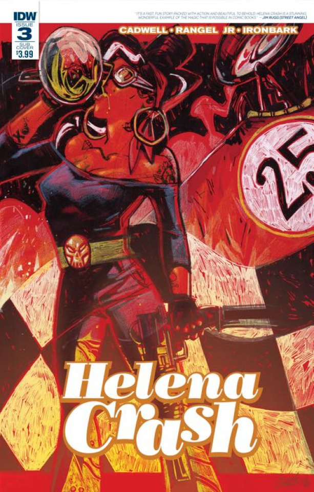 Helena Crash #3 (Subscription Cover)