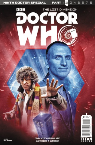 Doctor Who: New Adventures with the Ninth Doctor, Year Two #1 (Photo Cover)