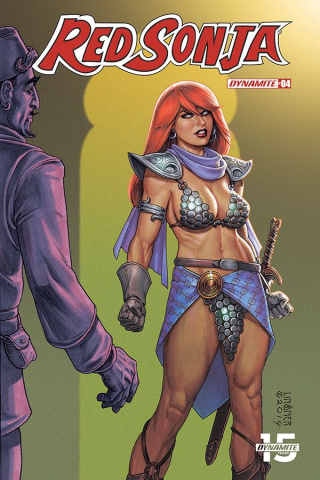 Red Sonja #4 (Linsner Cover)
