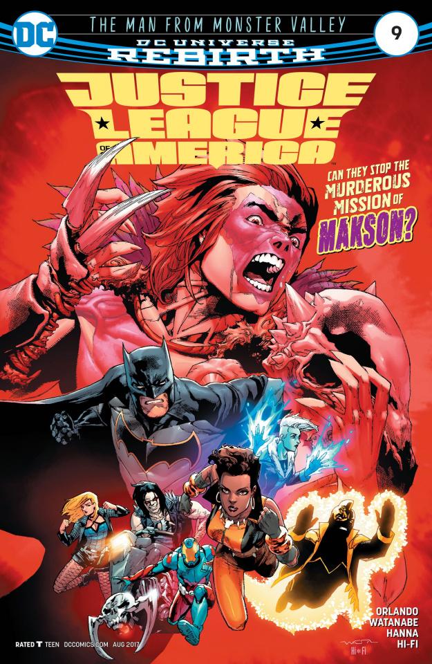 Justice League of America #9
