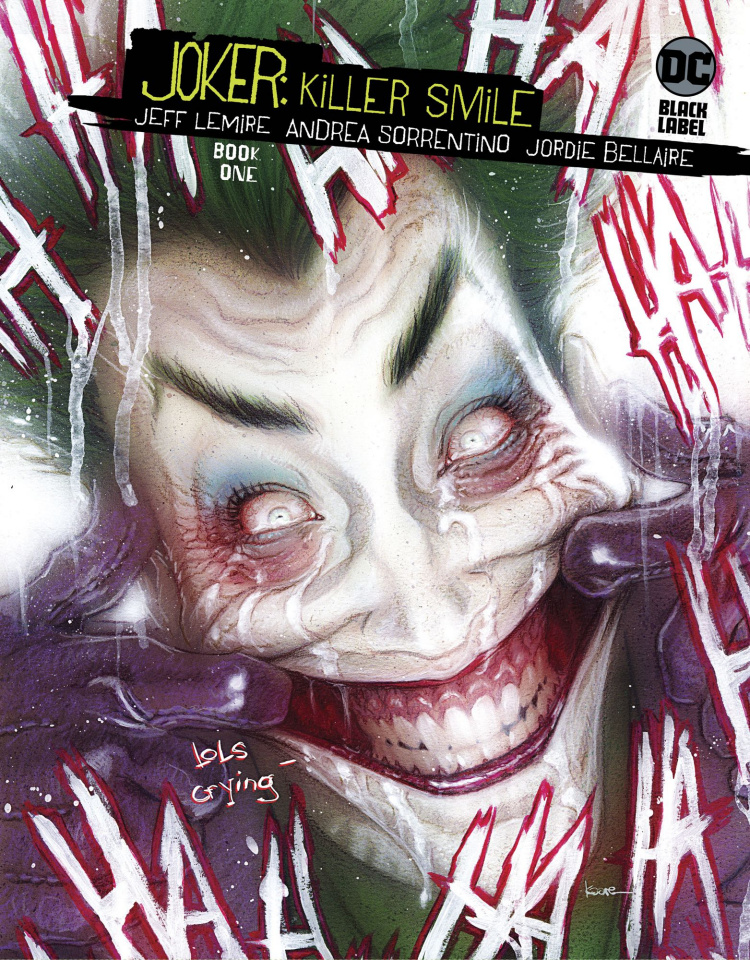 Joker: Killer Smile #1 (Variant Cover)