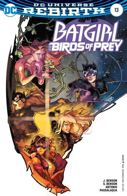 Batgirl and The Birds of Prey #13 (Variant Cover)