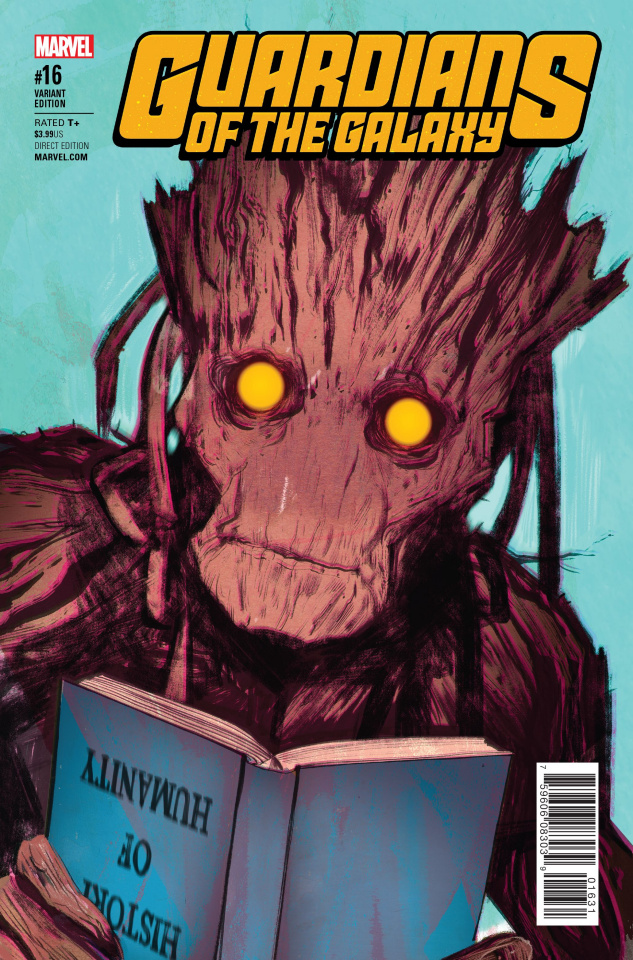 Guardians of the Galaxy #16 (Lotay Cover)