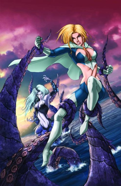 Grimm Fairy Tales: Myths & Legends #10 (Qualano Cover)