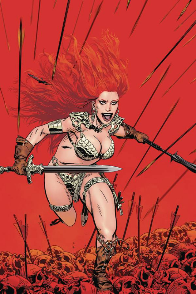 Red Sonja: The Price of Blood #1 (Golden Virgin Cover)
