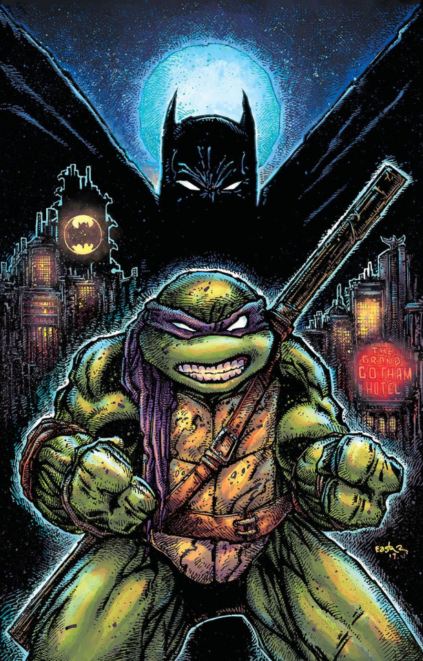 Batman / Teenage Mutant Ninja Turtles II #1 (Variant Cover)