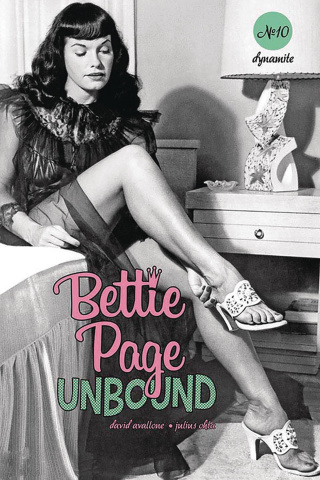 Bettie Page: Unbound #10 (Photo Cover)