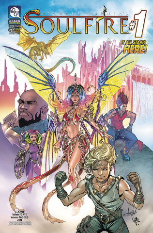 Soulfire #1 (Forte Cover)