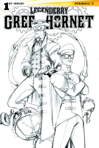 Legenderry: Green Hornet #1 (50 Copy Benitez B&W Cover)